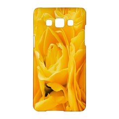 Yellow Neon Flowers Samsung Galaxy A5 Hardshell Case