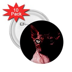 Sphynx Cat 2 25  Buttons (10 Pack)  by Valentinaart