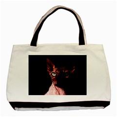Sphynx Cat Basic Tote Bag by Valentinaart