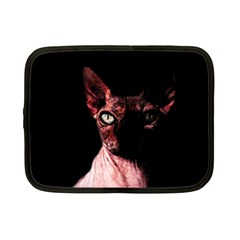 Sphynx Cat Netbook Case (small)  by Valentinaart