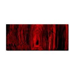 Tunnel Red Black Light Cosmetic Storage Cases by Simbadda