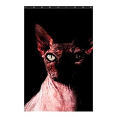 Sphynx Cat Shower Curtain 48  X 72  (small)  by Valentinaart