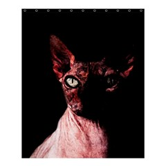 Sphynx Cat Shower Curtain 60  X 72  (medium)  by Valentinaart