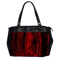 Tunnel Red Black Light Office Handbags by Simbadda