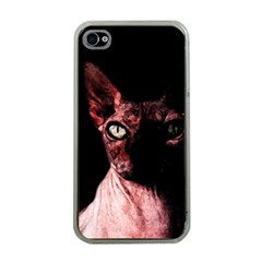 Sphynx Cat Apple Iphone 4 Case (clear) by Valentinaart