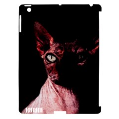 Sphynx Cat Apple Ipad 3/4 Hardshell Case (compatible With Smart Cover) by Valentinaart