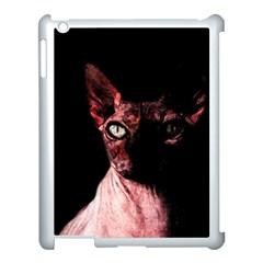 Sphynx Cat Apple Ipad 3/4 Case (white) by Valentinaart