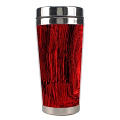 Tunnel Red Black Light Stainless Steel Travel Tumblers