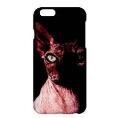 Sphynx Cat Apple Iphone 6 Plus/6s Plus Hardshell Case by Valentinaart