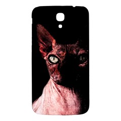 Sphynx Cat Samsung Galaxy Mega I9200 Hardshell Back Case by Valentinaart