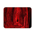 Tunnel Red Black Light Double Sided Flano Blanket (Mini)  35 x27 Blanket Back