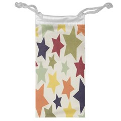 Star Colorful Surface Jewelry Bag by Simbadda