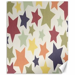 Star Colorful Surface Canvas 20  X 24   by Simbadda