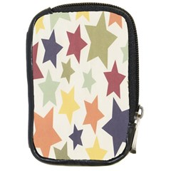 Star Colorful Surface Compact Camera Cases by Simbadda