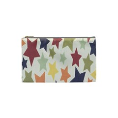 Star Colorful Surface Cosmetic Bag (small)  by Simbadda