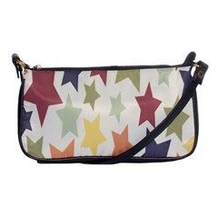 Star Colorful Surface Shoulder Clutch Bags by Simbadda