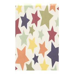 Star Colorful Surface Shower Curtain 48  X 72  (small)  by Simbadda