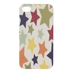 Star Colorful Surface Apple Iphone 4/4s Hardshell Case by Simbadda