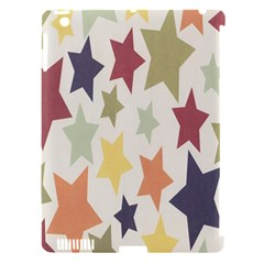 Star Colorful Surface Apple Ipad 3/4 Hardshell Case (compatible With Smart Cover) by Simbadda