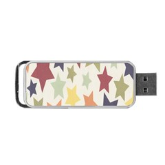 Star Colorful Surface Portable Usb Flash (one Side) by Simbadda