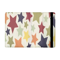 Star Colorful Surface Apple Ipad Mini Flip Case by Simbadda