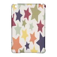 Star Colorful Surface Apple Ipad Mini Hardshell Case (compatible With Smart Cover) by Simbadda