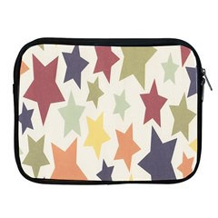 Star Colorful Surface Apple Ipad 2/3/4 Zipper Cases by Simbadda