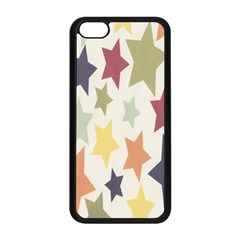 Star Colorful Surface Apple Iphone 5c Seamless Case (black) by Simbadda