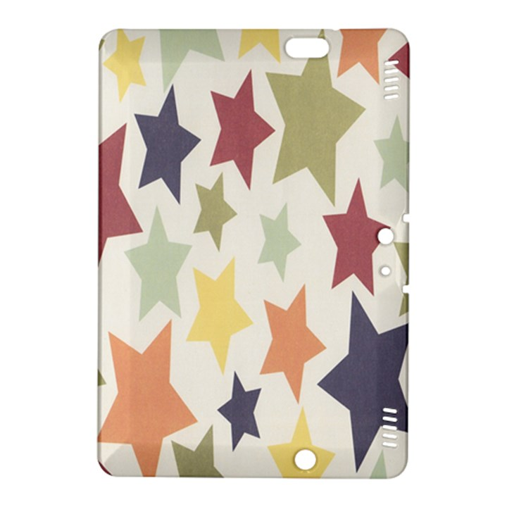Star Colorful Surface Kindle Fire HDX 8.9  Hardshell Case