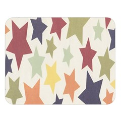 Star Colorful Surface Double Sided Flano Blanket (large)  by Simbadda