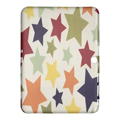 Star Colorful Surface Samsung Galaxy Tab 4 (10 1 ) Hardshell Case  by Simbadda