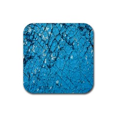 Surface Grunge Scratches Old Rubber Square Coaster (4 Pack)  by Simbadda
