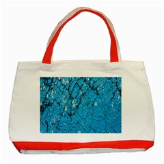 Surface Grunge Scratches Old Classic Tote Bag (red) by Simbadda