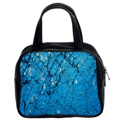 Surface Grunge Scratches Old Classic Handbags (2 Sides) by Simbadda