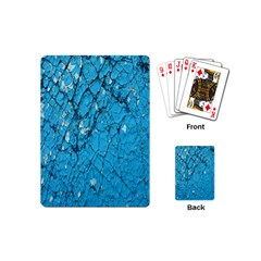 Surface Grunge Scratches Old Playing Cards (mini)  by Simbadda