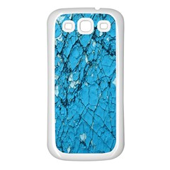 Surface Grunge Scratches Old Samsung Galaxy S3 Back Case (white) by Simbadda