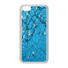 Surface Grunge Scratches Old Apple Iphone 5c Seamless Case (white) by Simbadda