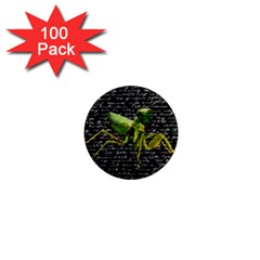 Mantis 1  Mini Magnets (100 Pack)  by Valentinaart
