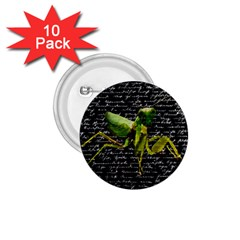 Mantis 1 75  Buttons (10 Pack) by Valentinaart