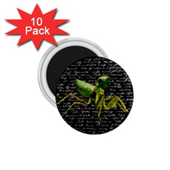 Mantis 1 75  Magnets (10 Pack)  by Valentinaart