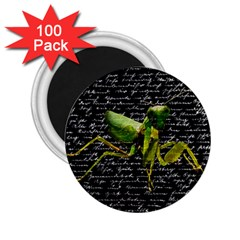 Mantis 2 25  Magnets (100 Pack)  by Valentinaart