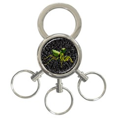 Mantis 3 Ring Key Chains by Valentinaart