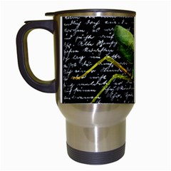Mantis Travel Mugs (white) by Valentinaart