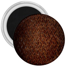 Texture Background Rust Surface Shape 3  Magnets by Simbadda