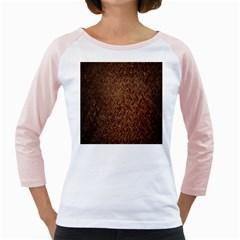 Texture Background Rust Surface Shape Girly Raglans by Simbadda