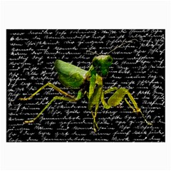 Mantis Large Glasses Cloth by Valentinaart