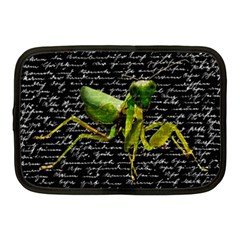 Mantis Netbook Case (medium)  by Valentinaart
