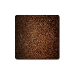 Texture Background Rust Surface Shape Square Magnet by Simbadda