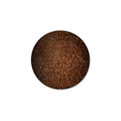 Texture Background Rust Surface Shape Golf Ball Marker (4 Pack)