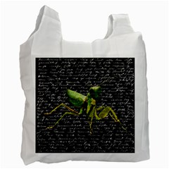 Mantis Recycle Bag (one Side) by Valentinaart